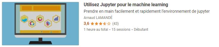 Utilisez Jupyter pour le machine learning